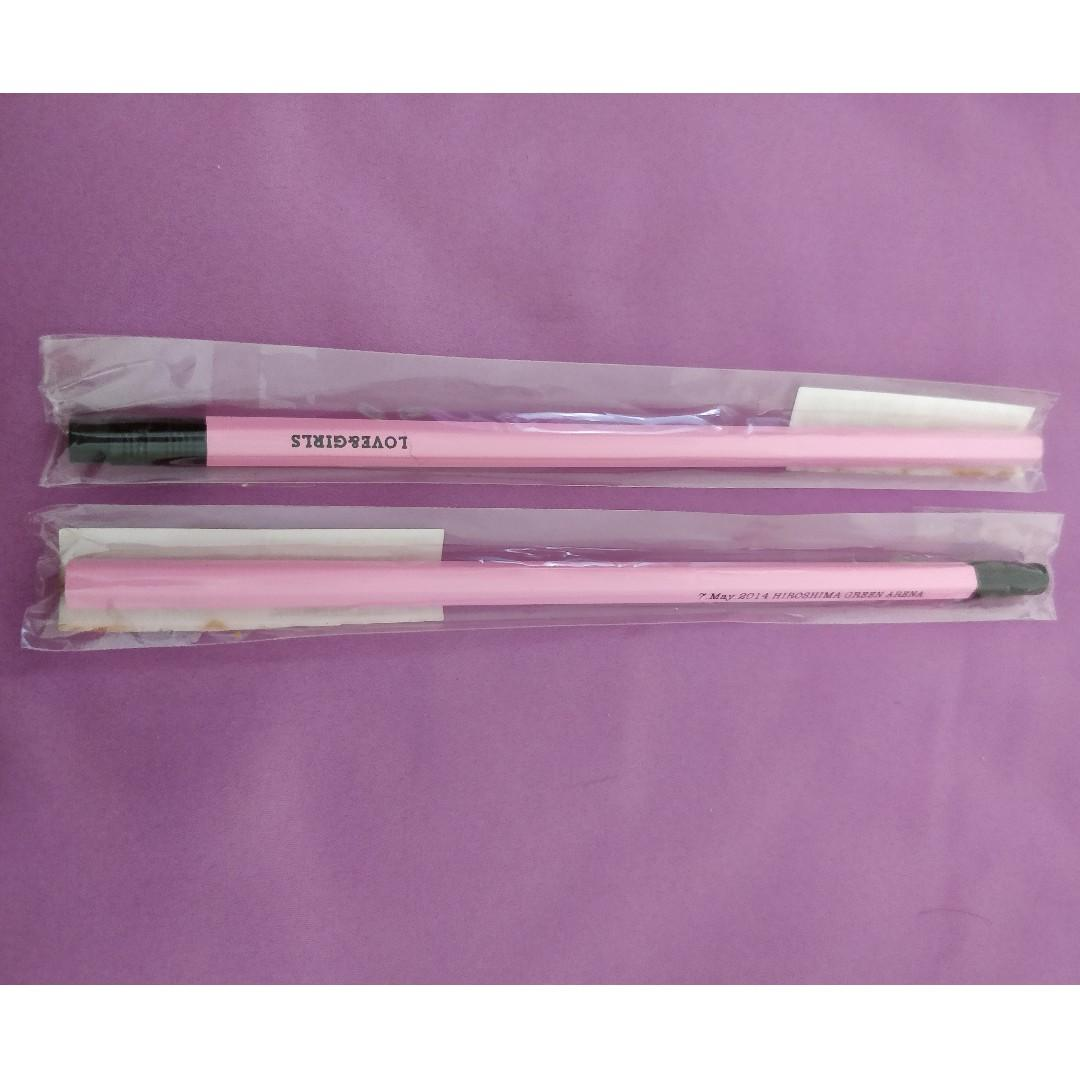 Girls' Generation Love & Peace Japan 3rd Tour 2014 Message Pencils (Both)