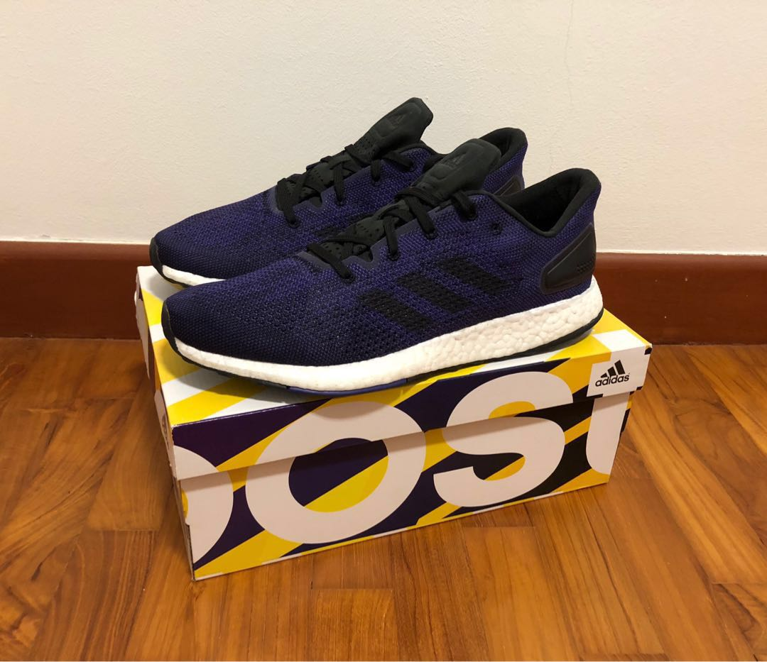 the latest efbee 5050a Guaranteed Authentic Like New Adidas Pureboost DPR shoe sneaker in ...