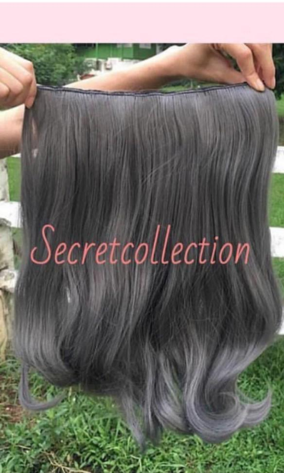 Hair Clip Biglayer Wave Ash Gray HC-AG