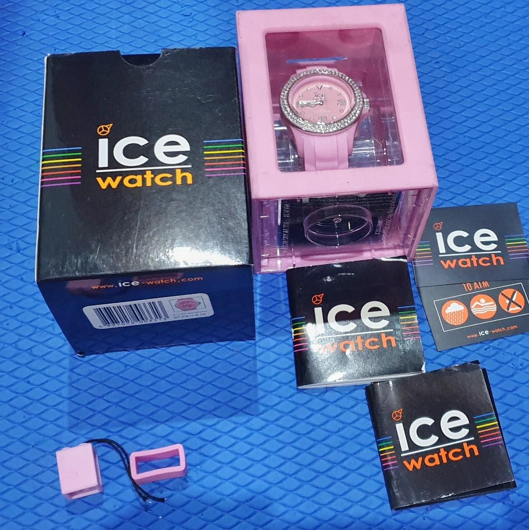 ICE watch stone crystal pink