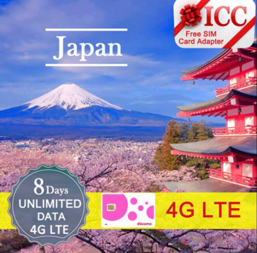Japan Sim Card ICC Wifi