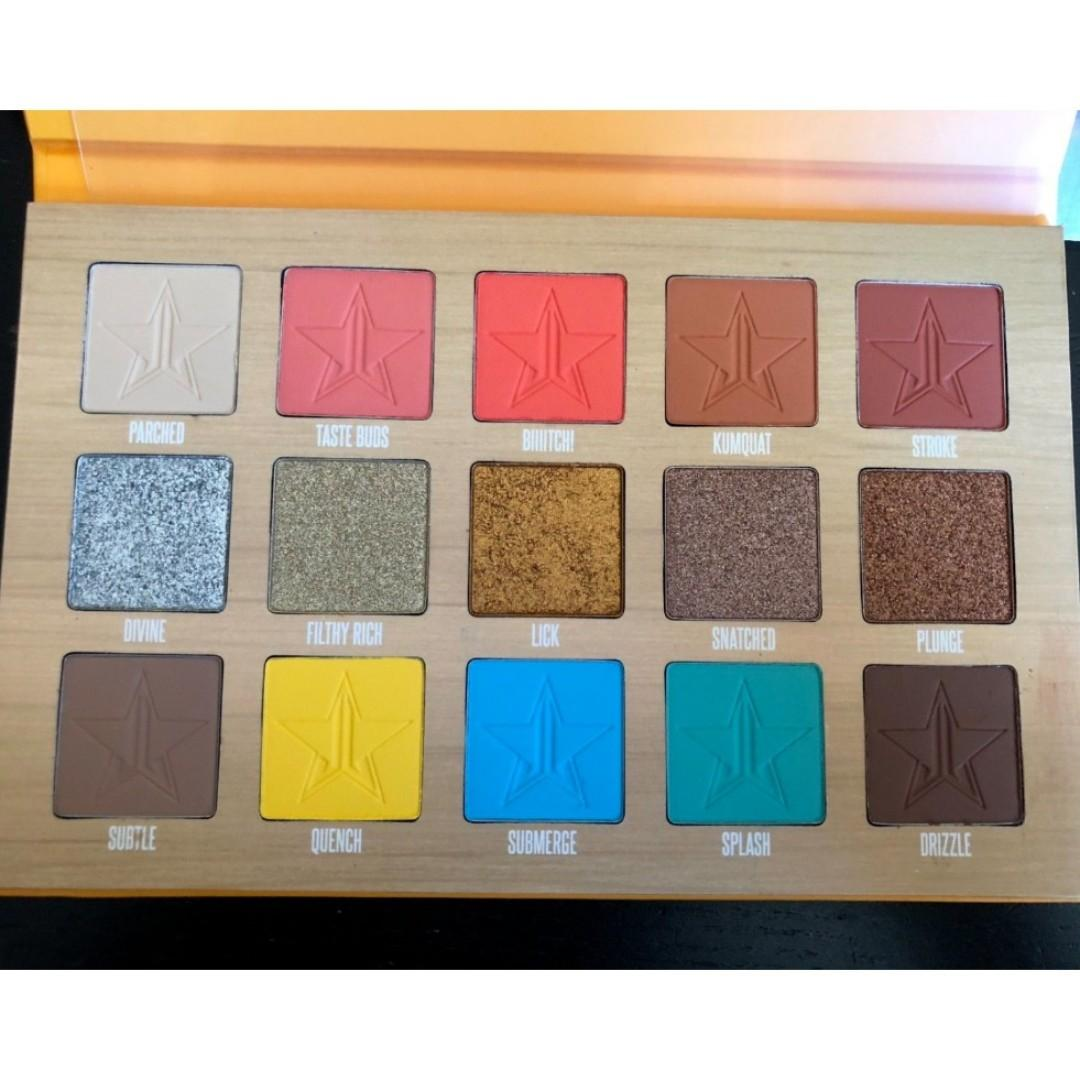 Jeffree Star 'Thirsty' Eyeshadow palette BRAND NEW & AUTHENTIC [PRICE IS FIRM, NO SWAPS]