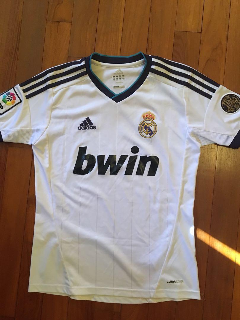 free shipping f68e8 25774 Kids Retro Real Madrid Jersey 2012-2013