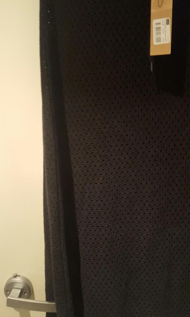 Ksubi Distressed Lace Maxi Skirt - Size M  RRP $239.95
