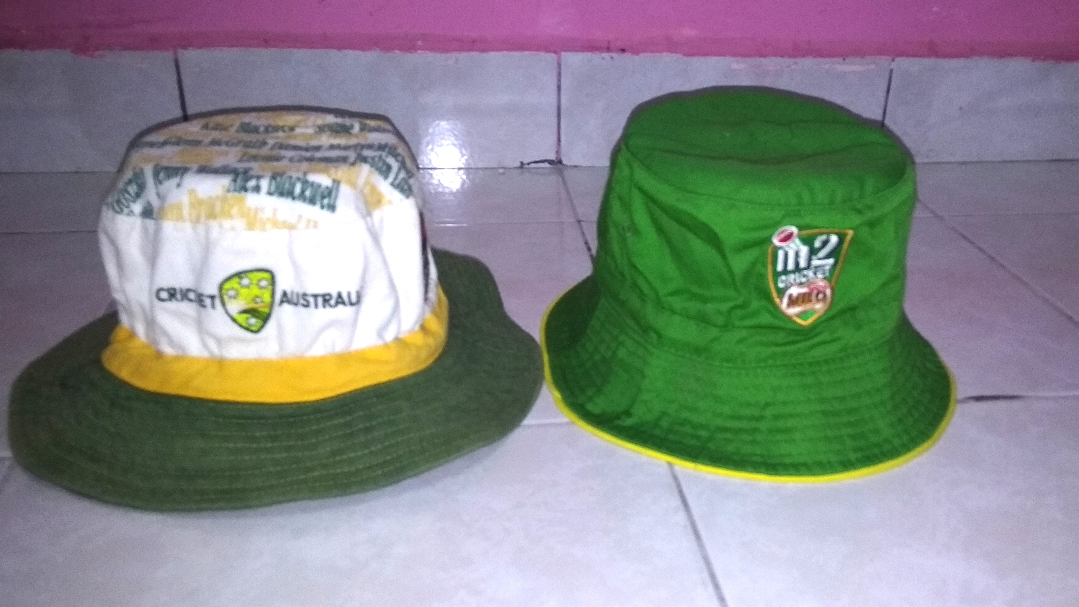 952e4b43809 Lot Bucket Hat Milo Cricket Australia
