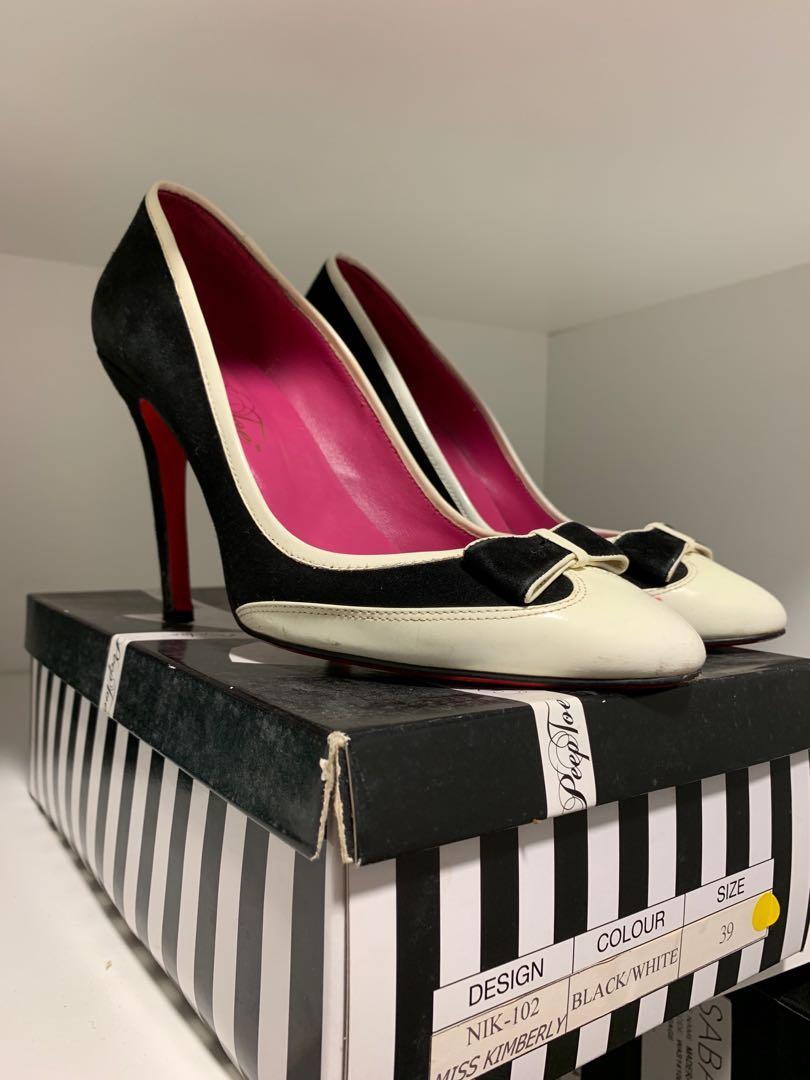 Miss Kimberly Bow Heels Size 39