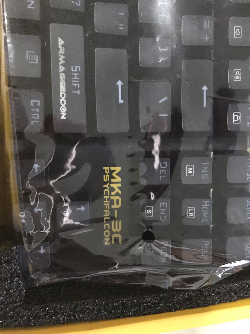 3245e956ec9 MKA-3C Gaming Mechanical Keyboard , Electronics, Computer Parts &  Accessories on Carousell