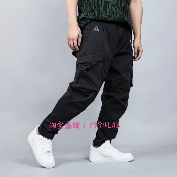 2740f43fcb8e3 nike acg cargo pants black size:m, Men's Fashion, Clothes, Bottoms on  Carousell