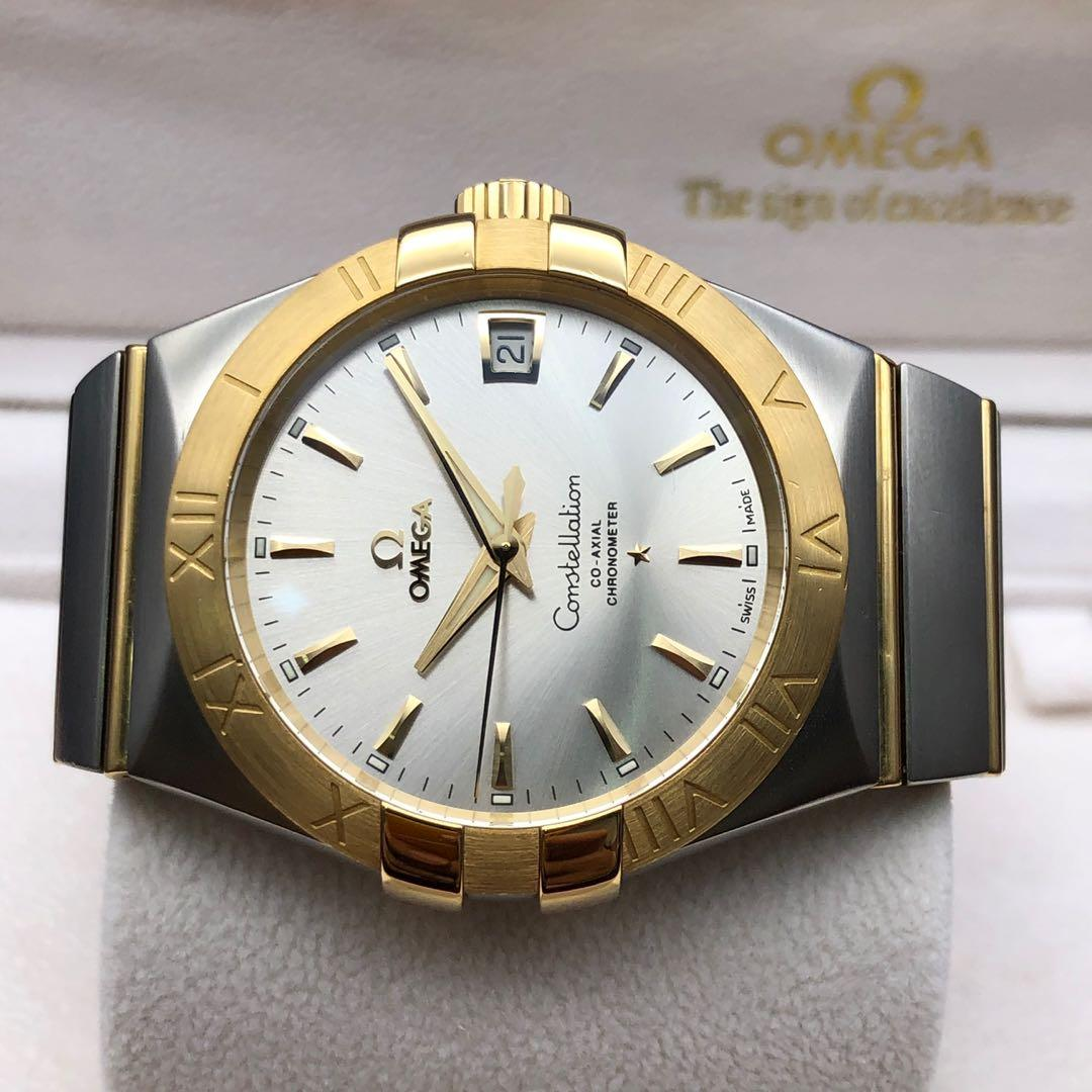 Omega Constellation - gold