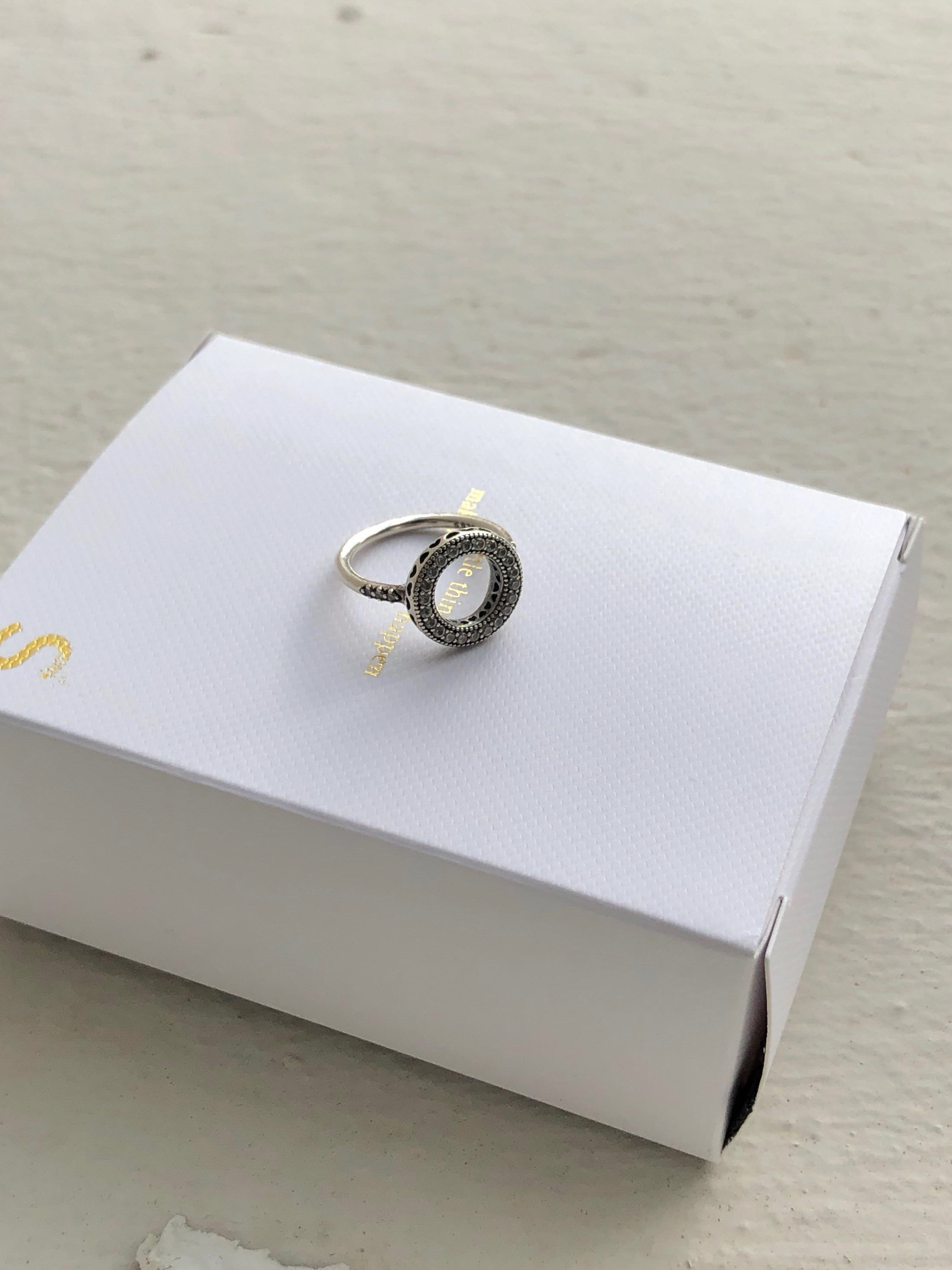 c86769af5 Pandora Ring size 48 silver, Women's Fashion, Jewellery, Rings on ...