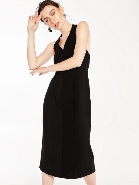 3b3acd11626e Pomelo brand new ismay halter neck black dress XS, Women's Fashion ...