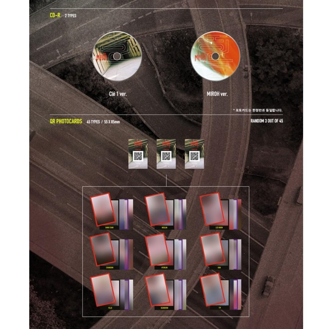 [PREORDER] STRAY KIDS (스트레이 키즈) - CLE 1 : MIROH (Mini Album)
