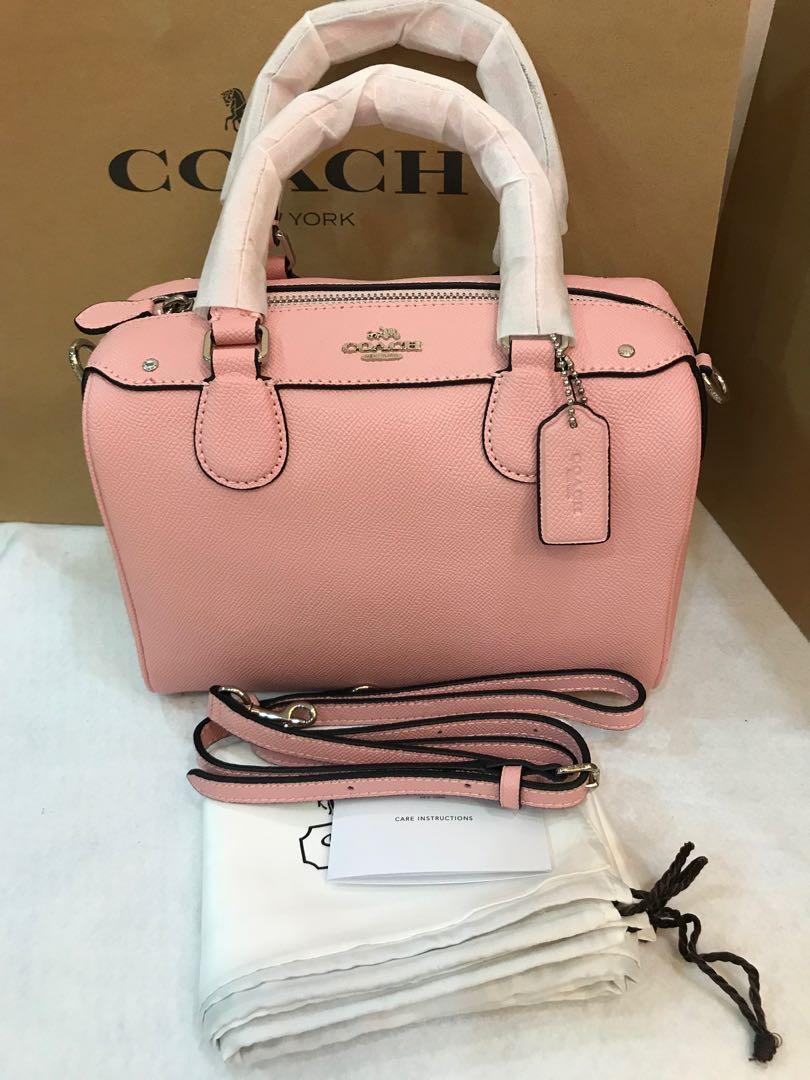 Ready stock 57521 Bennett handbag pink