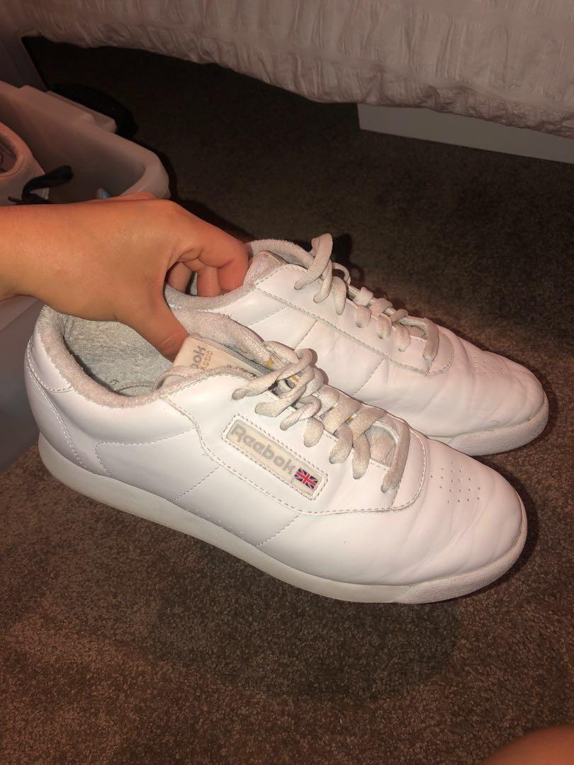 Reebok classics white vintage