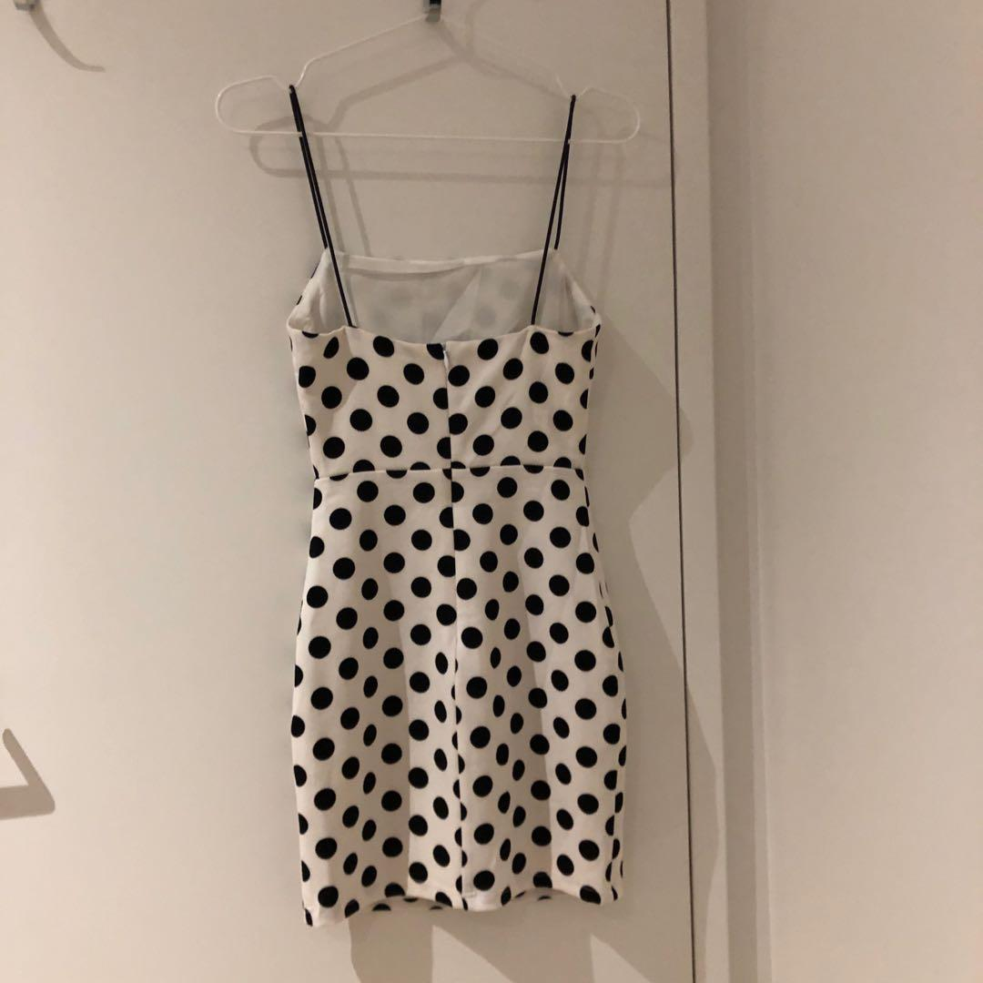 Revolve Polka Dot Dress