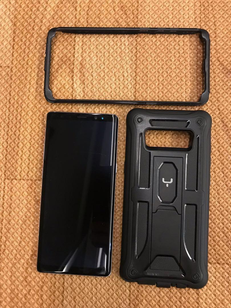 [Sale] Samsung galaxy note 8 64gb grey with case