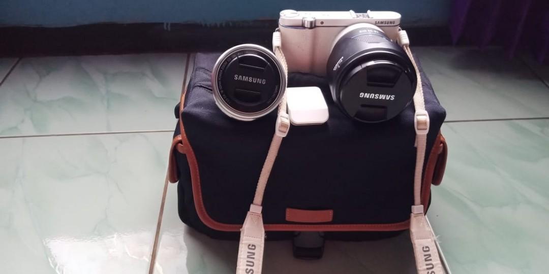 samsung nx 3300 dengan lensa 18-55 mm