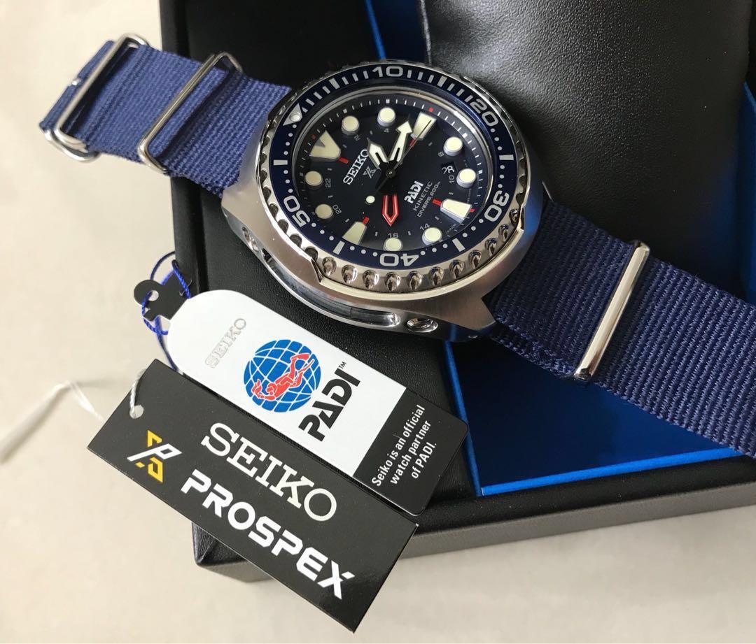 Seiko Prospex Sun065 Special Edition Padi Kinetic Gmt 200m Diver
