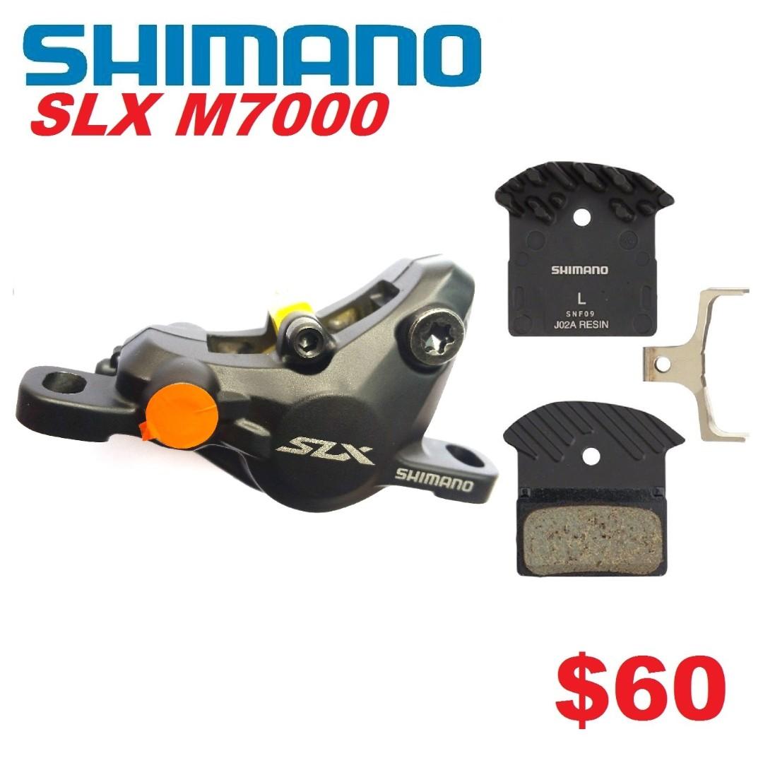 Shimano SLX M7000 Disc Brake Caliper Only --------------------(MT2 MT4 MT5  M5e MT6 MT7 MT8 MT 1893 MT Trail SPORT CARBON M9120 M8020 M8000 M7000 M315