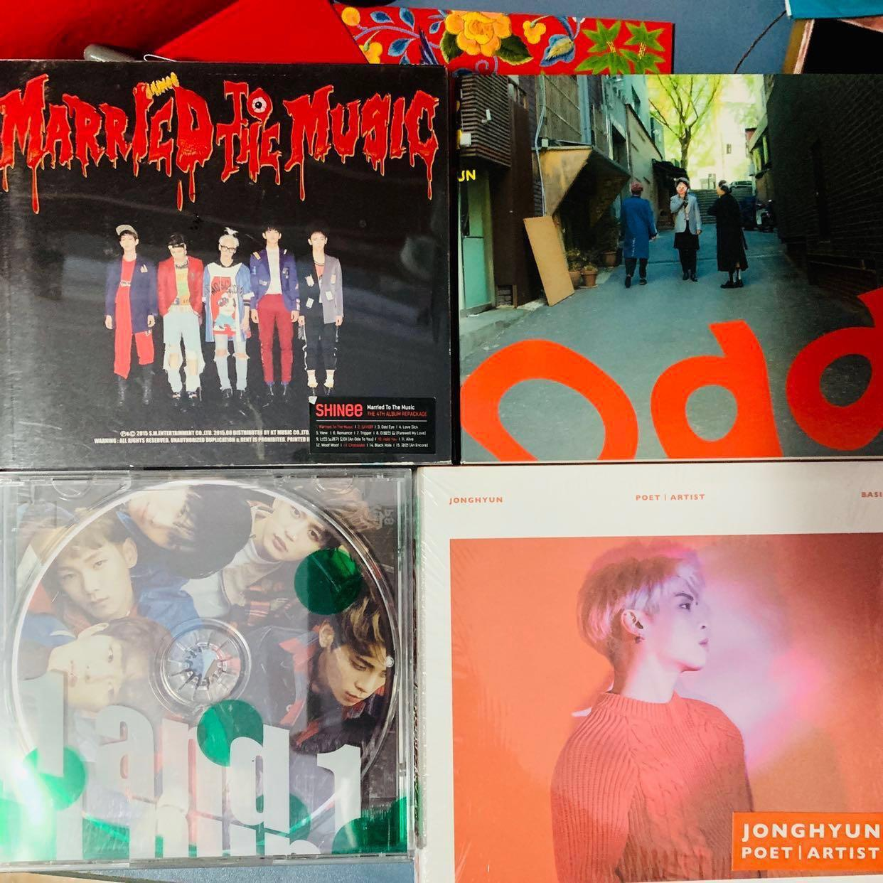 SHINee / Jonghyun albums - Odd Ver B, Married To The Music