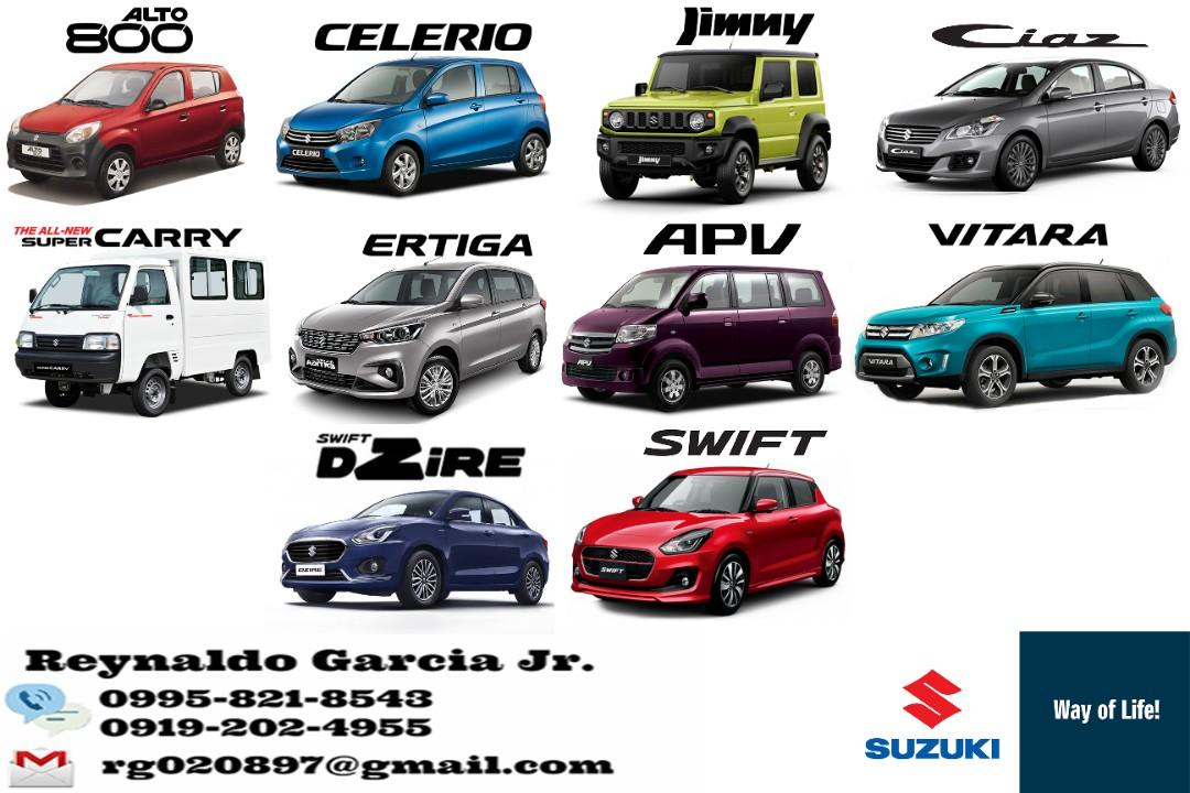 Suzuki Low DP High Discount Promo! Call or Text 0919-2024955 Toyota Mitsubishi Hyundai