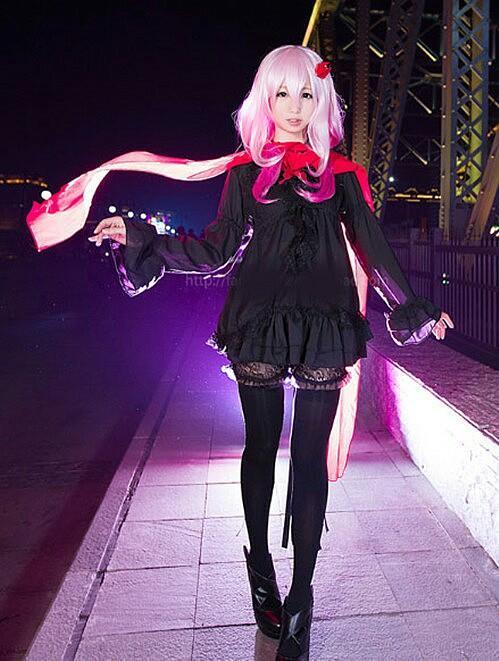 The Everlasting Guilty Crown - Inori Yuzuhira Cosplay Costume & Wig #Hobby