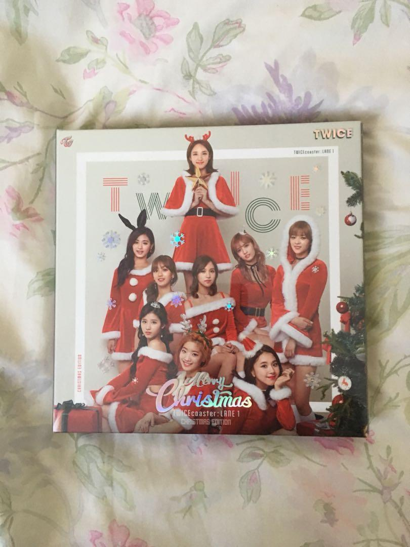 TWICEcoaster: Lane 1 Christmas Edition [NO PC, Sticker ONLY]