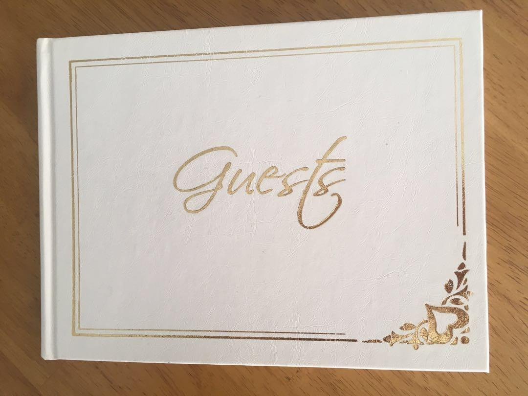 Wedding Birthday Christening Any Occasion Guest Book