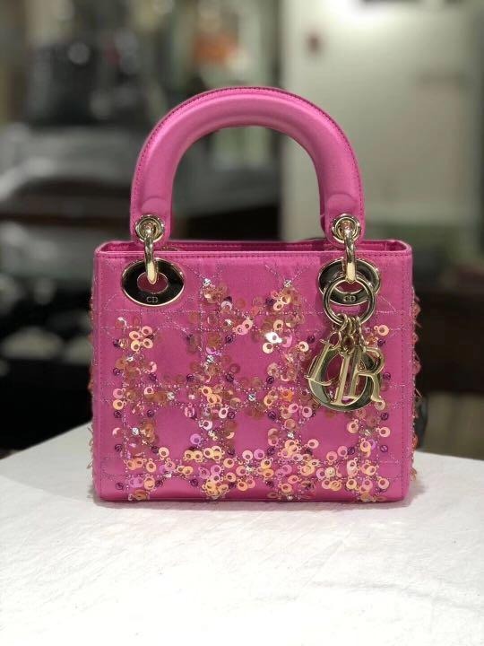 【WEEKEND SALE】Authentic Pre-loved Christian Dior Medium Lady Dior (Limited Edition)