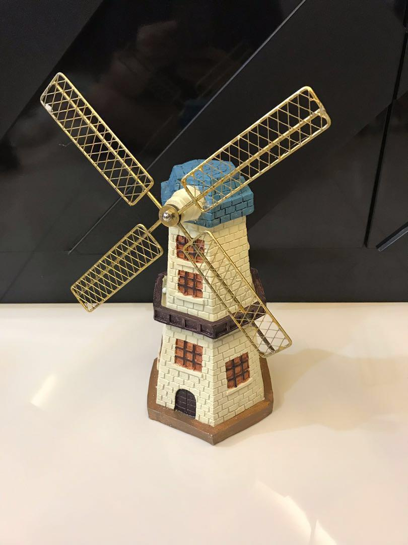 Windmill Coin Bank Display (Brand New)