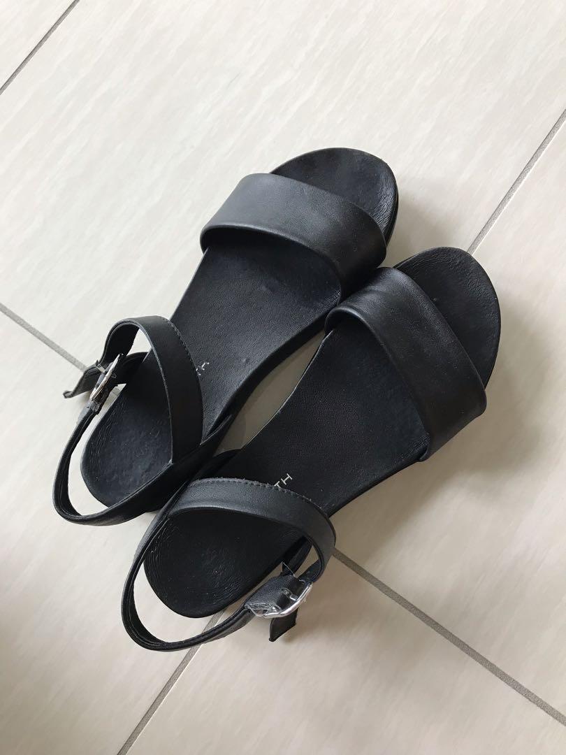 Windsor Smith black Lucee sandal | size 6