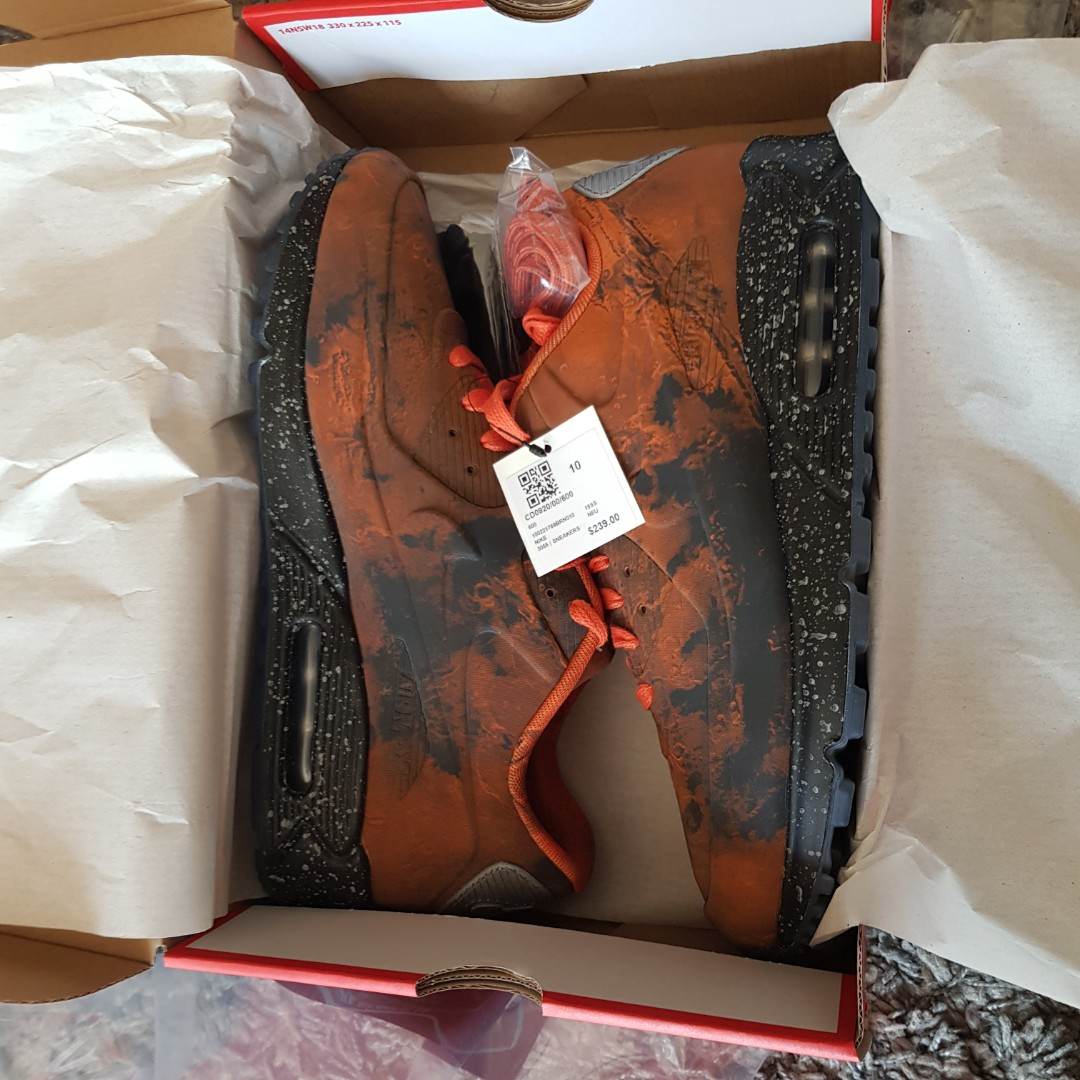 on sale f3e20 9de19 WTT Nike Air Max 90 QS  Mars Landing , Men s Fashion, Footwear ...