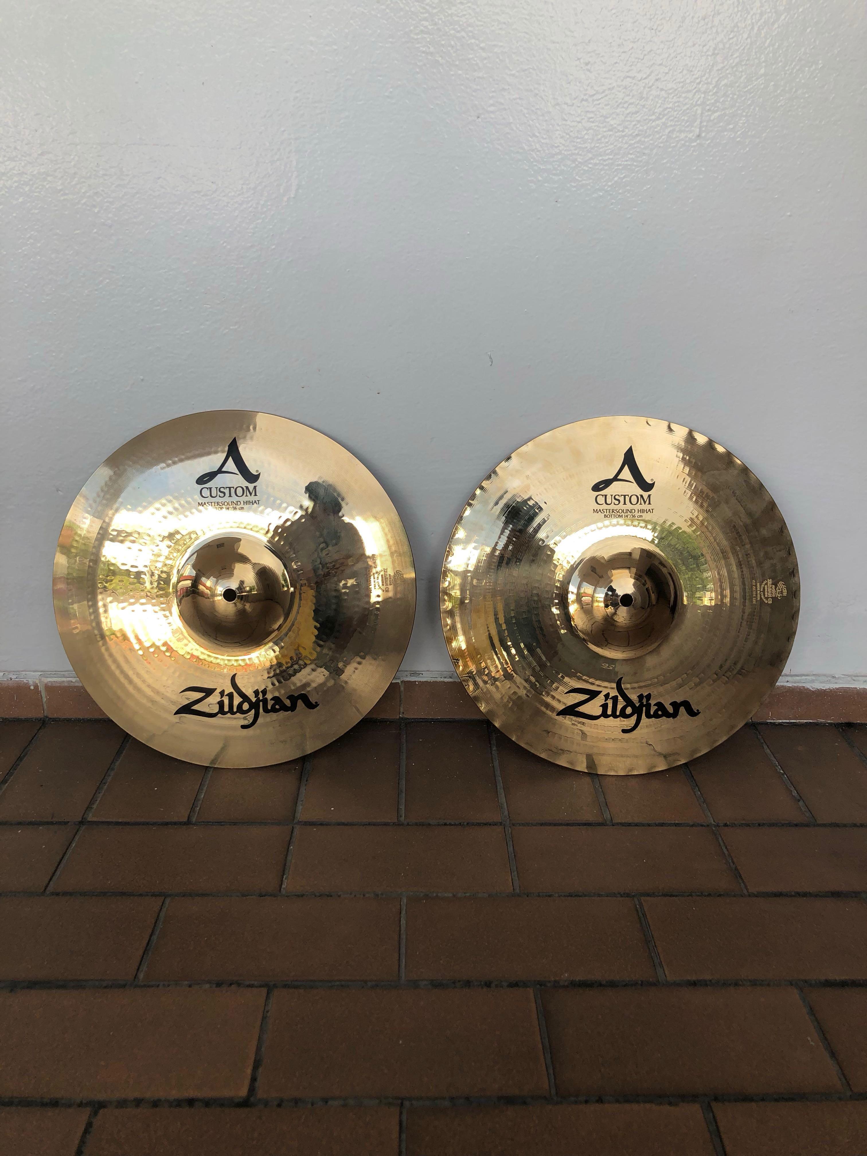 """e5c3b1c27adb Zildjian 14"""" A Custom Mastersound Hi Hat"""