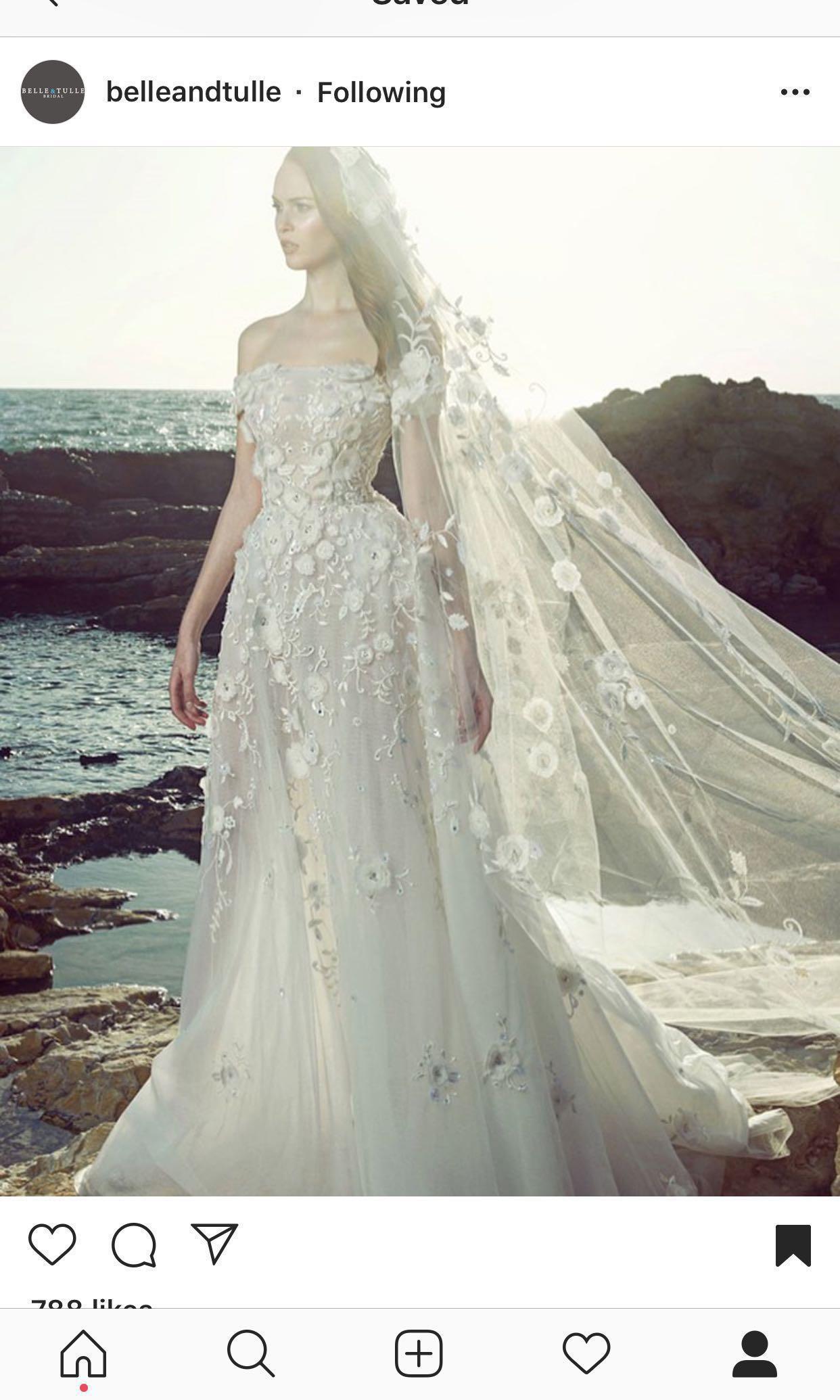 Zuhair Murad Lena Wedding Gown Women S Fashion Clothes Dresses