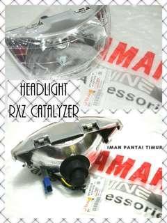 Head lamp rxz catalyzer