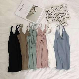 🚚 ribbed camisole