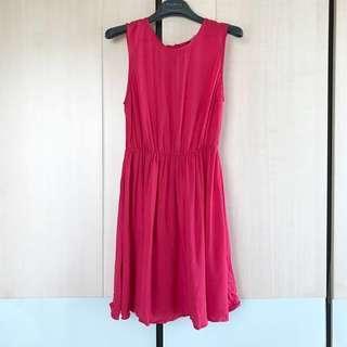 Women's Pink Dress 女裝桃紅色裙