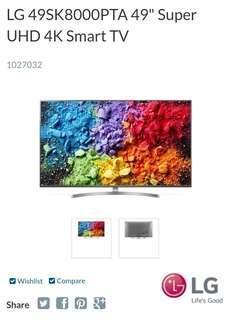 Unbox LG Smart TV 49SK8000PTA