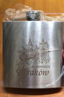 🚚 Krakow original stainless steel hip flask