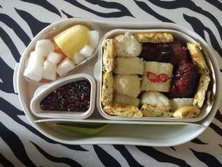 Bento Box Premium By French Bull (Microwave Safe)