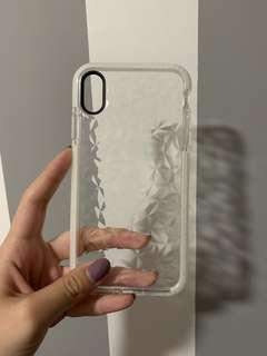 🚚 IPhone XS Max white diamond bumper case