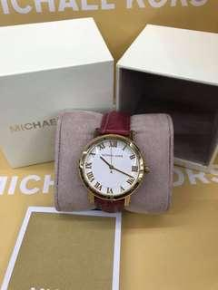 Michael kors watch ( maroon)