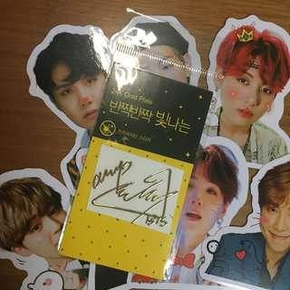 [Instock] BTS Jimin Radioactive Sticker Signature EMW