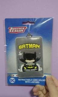 Batman ezlink pass case with lanyard