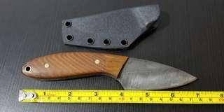 U.S. Custom made NECK KNIFE