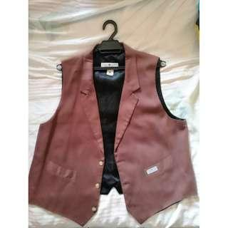 BROWN VEST - MADE IN AUSTRALIA