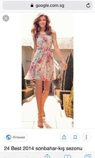 Forever New- floral midi dress