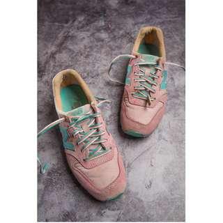 🚚 【TKRY二手球鞋】new balance996撞色拼裝系球鞋23.5號
