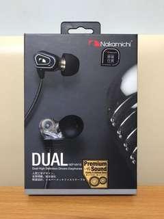 Nakamichi Earphones 中道耳機 NEP-MV18