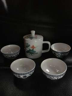 🚚 丞漢陶瓷泡茶組